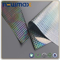 Adhesive Hydrographic Paper Label Car Sticker Laminating Film