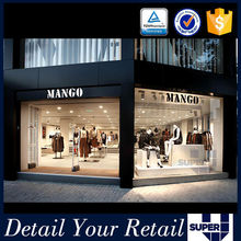 clothing boutique equipment shop furniturte clothes display showcase