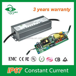 Shenzhen LED street light no flicker power supply waterproof constant current 100w LED driver 36v