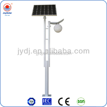 solar energy garden lamp 3m 4m 10w/12v led bulb solar garden light/garden lamp led