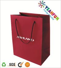 Promotional paper delivery bag