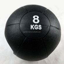 2015 8KG New double handle medicine ball rubber weight ball