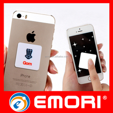 Adhesive Microfiber Sticky Mobile Phone Screen Cleaner for iPhone 6