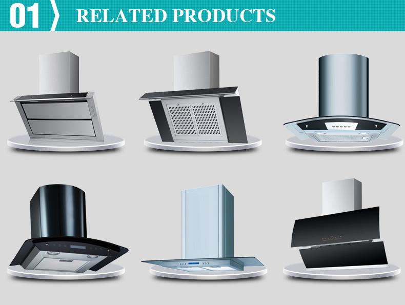Restaurant Kitchen Hoods Stainless Steel ~ White stainless steel ductless halogen lamps range hoods