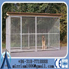 Hot sell dog kennel enclosures large pet cage with Roof Shelter