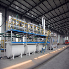 hot sale new design pyrolysis machine extract fuel oil from waste plastic 10 tons