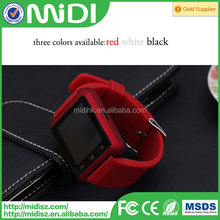 2015 latest small watch mobile wrist phone with pedometer function