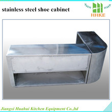 cheap shoe rack factory directly supply stainless steel shoe cabinet for sale