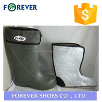 nature rubber men clear pvc rain lace boots