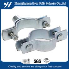 Metal Electrical Galvanizing Split Pipe Clamp