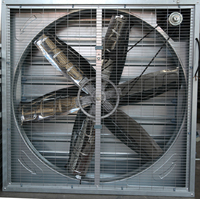 HS new design First-class louvered exhaust fan for controlling temperature