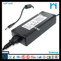 12v rechargeable power supply led strip power adapter laptop power supply circuit 10A 120W