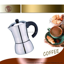 coffee maker / moka coffee maker/ Stainless Steel Espresso Coffee Makers 6 Cups