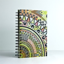 Wiro notebook hard cover with spiral Indian chiefs series