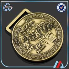 Newest Design brass car emblem medal for sports match
