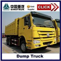 SINOTRUCK HOWO New 6*4 371HP 10 wheelers dump truck/tipper truck