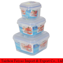 transparent multi size lunch box for children