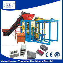 Manual block machine line QT4-26D Best selling small concrete brick machine for myanmar