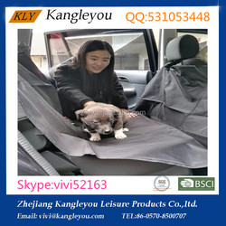 600D PVC waterproof pet car seat covers,pet rider at factory price