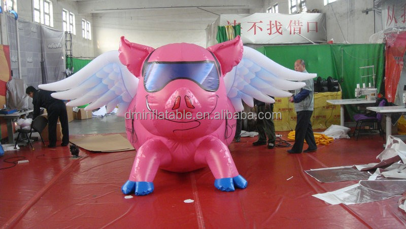 Customized New Style Giant Inflatable Pig Balloons ...