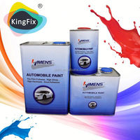 two component high weathering resistant clear coat car paint with High-quality repair effect