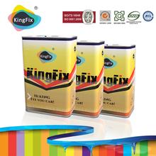KINGFIX Brand ms & hs 2k clear coat auto paint factory manufacture