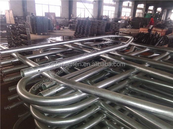 Fully hot dip galvanize guardrail