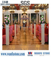 Custom wedding pedestal columns/wholesale decorative pillars and columns/beautiful decorative columns