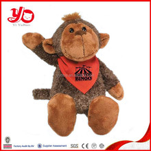 Cute big mouth monkey, monkey soft toy,plush monkey names