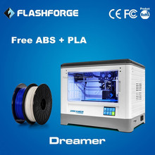 Flashforge 3d printer dual extruder ABS PLA filament WIFI connection 3d printing rapid prototyping
