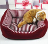Cat Kennel Striped Canvas dog beds Cozy Beds