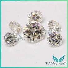2015 Hot New Product Gem stone Wuzhou Gems Processing China Natural Stone Rough White Bulk Wholesale Moissanite