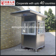 solar panel roof sentry box security guard house for sale