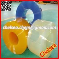 Clear flexible strip rolls plastic pvc transparent curtain/pvc plastic transparent curtain