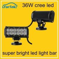 2015 new 36w led light bar 36w led work light whole sale top quality double row led light bar
