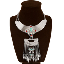 Foreign Trade Original Single Exaggerated Necklaces Ornaments Multi-layer Alloy Necklace