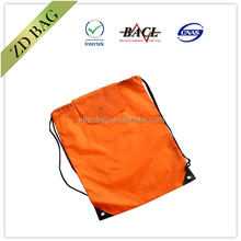 cheap blank drawstring bag with flap