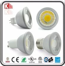Aluminum cob spot lamp Epistar 5w cob mr16 aluminium led lamp cup