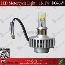 12v 24v led light motocycle,motorcycle light 18w led work light