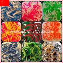2015 Hot Wholesale DIY Colorful Bands cheap green natural rubber bands