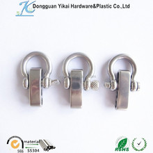 metal SS bow shackle clasp,metal buckle steel shackles