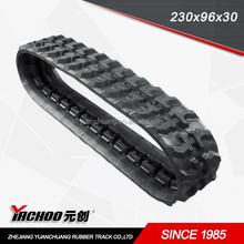 Construction Machinery Mini crawler loader, mini track loader rubber track 230x96