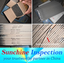 Welding Electrode Quality Inspection Service in Chin /India/Turkey/Pakistan /Sunchine Inspection Your Inspection Partner in Asia