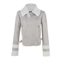 Popular new style women's winter warm long coat jacket