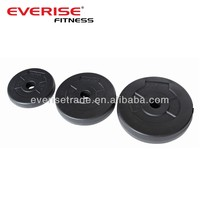 sand/cement filled plastic weight plates