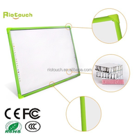 Riotouch 10 points IR multi touch no projector small electronic whiteboard for sale