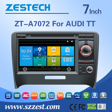 HOT sell 7inch car accessores for Audi with WINCE 6.0 system 3G WiFi OBDII DVR function