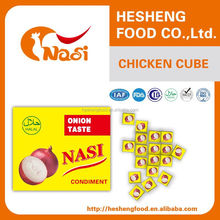Nasi africa halal bouillon cube onion 5g*120*24 for sale
