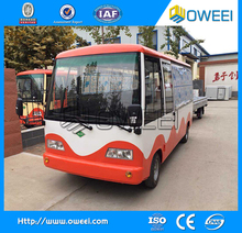 Electric Bus Food Truck for selling different kinds of fast food