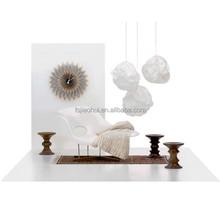 JH-071 Modern White Fiberglass Chaise Lounge Chair/ Sleeping Chair